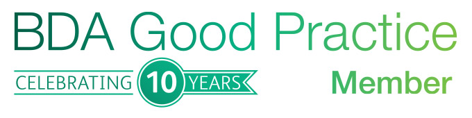 BDA Good Practice 10 Years Logo